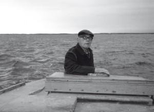 erik i båt